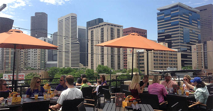 Awesome Birdu0027s Eye View: 13 Denver Rooftop Bars