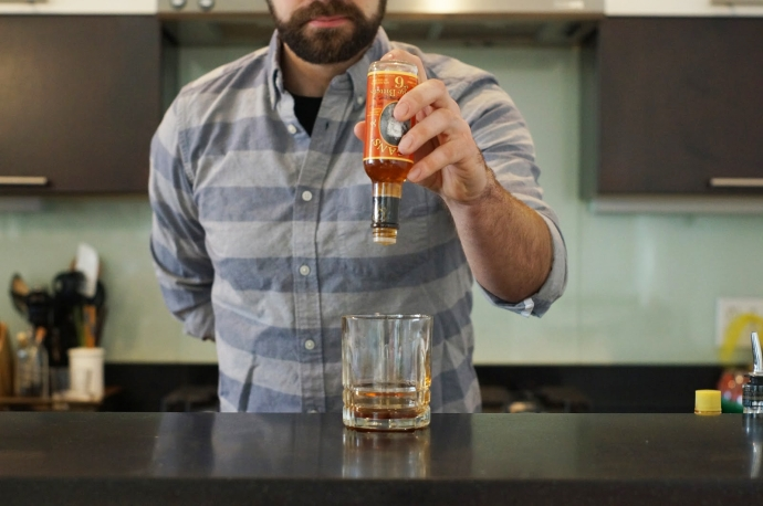 Home Bar Project: How to Make a Fancy Free