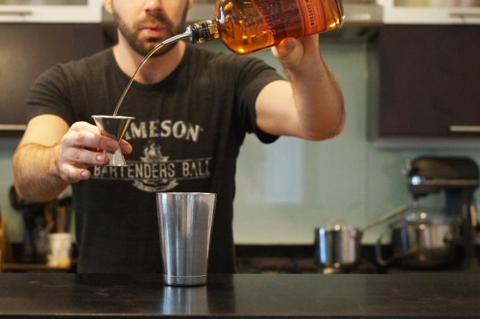 Home Bar Project: How to Make a Kentucky Maid