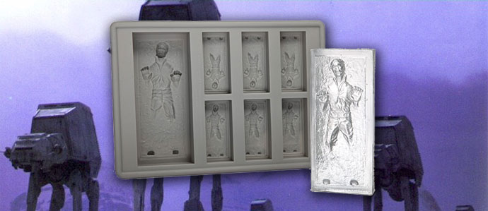 May the 4th Be With You: Win a Han Solo Ice Cube Tray