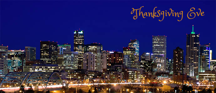 Where to Celebrate Thanksgiving Eve in Denver