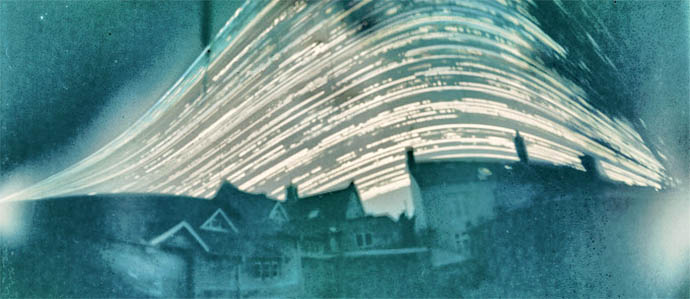 Beer Can Camera Takes Six-Month-Long Photo of the Sky