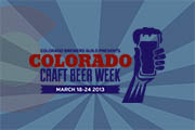Colorado Craft Beer Week Opening Ceremony at Falling Rock Tap House, March 18