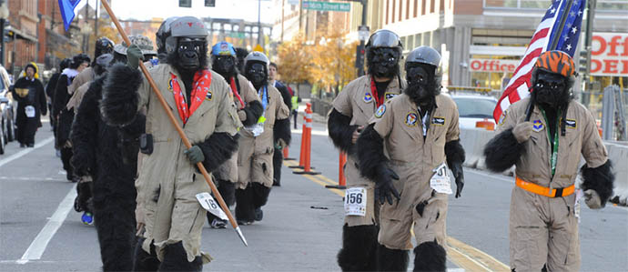 The Denver Gorilla Run moves to City Park