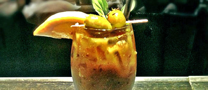 Celebrate St. Patrick's Day with a Green Bloody Mary at TCO