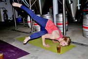 Prost to Host 'Poses & Pints' Yoga Class