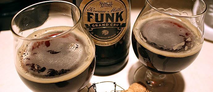 Beer Review: Samuel Adams Kosmic Mother Funk Grand Cru