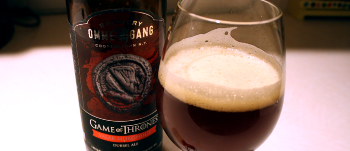 Beer Review: Valar Morghulis, the Latest 'Game of Thrones' Inspired Release from Brewery Ommegang