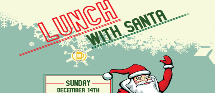 Grab Lunch and a Beer with Santa at Lowry Beer Garden, Dec 14