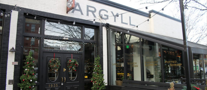 Whisky Rules at Argyll Gastropub