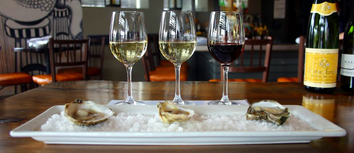 Learn oysterology with humboldt 39 s wine and oyster pairing for Humboldt farm fish wine