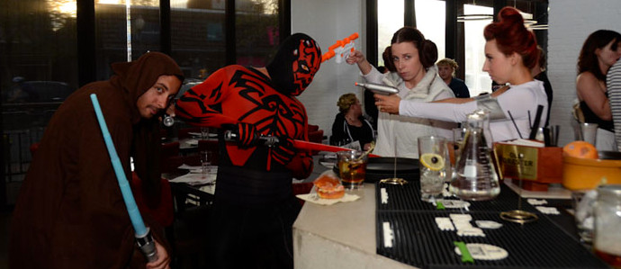 Find the Force at the 2nd Annual May the 4th Be With You Dinner at Session Kitchen
