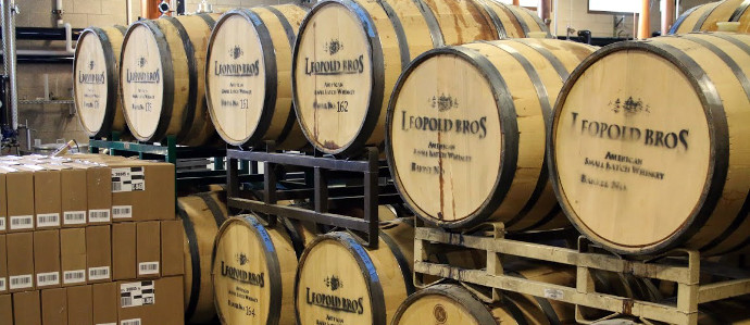 Variety Reigns Supreme at Leopold Bros. Distillery