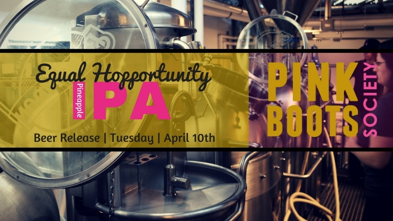 Craft Beer Denver | Denver's Pink Boots Society to Release Equal Hopportunity April 10 | Drink Denver