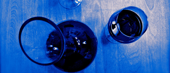 A Spanish Winemaker is Producing Blue Wine
