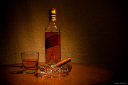 Whiskey and Cigar Dinner at Del Frisco's