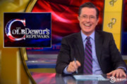 Stephen Colbert Sells Naming Rights to his Show to Dewar's Scotch