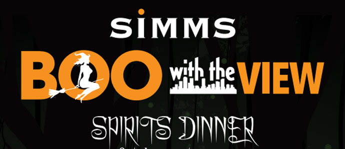 Simms Steakhouse Hosts Boo with a View, Oct. 31