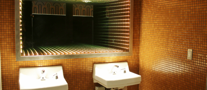 Denver's Hippest Bar Restrooms