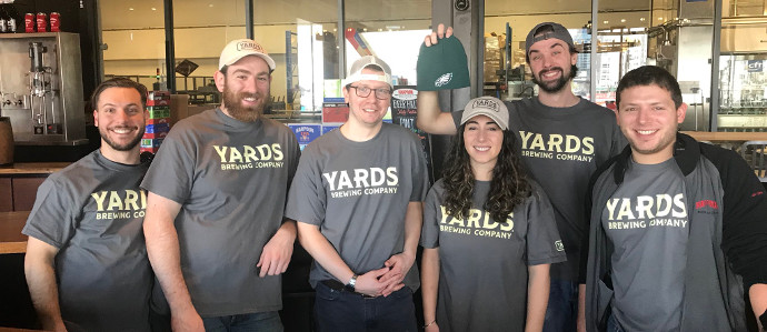 Boston's Harpoon Brewery Loses Super Bowl Bet to Philadelphia's Yards Brewing