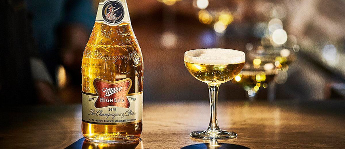 Miller High Life is Now Available in Champagne Bottles