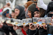 Town of Breckenridge Breaks Shot Ski Record Again