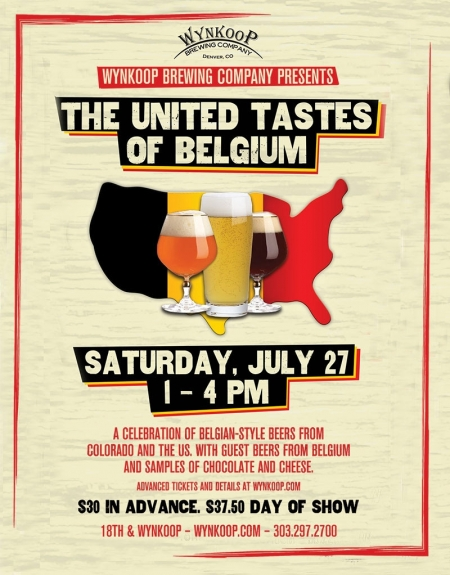 The United Tastes of Belgium with Wynkoop Brewing