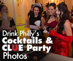 Drink Philly Cocktails and Clue Recap Rectangle Ad