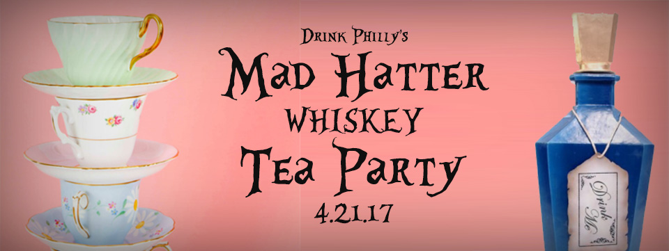 Mad Hatter Whiskey Tea Party Cover