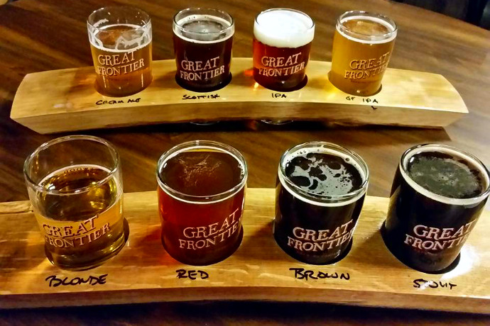 Great frontier brewing company comes to the gluten free for Strange craft beer company